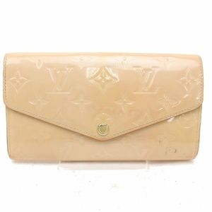100% Auth Louis Vuitton Wallet Portefeuille Sarah